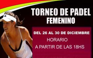 Torneo Femenino de Pádel @ UCJC Sports Club | Villafranca del Castillo | Comunidad de Madrid | España