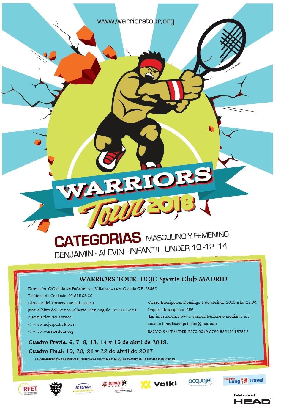 ttk warriors tour